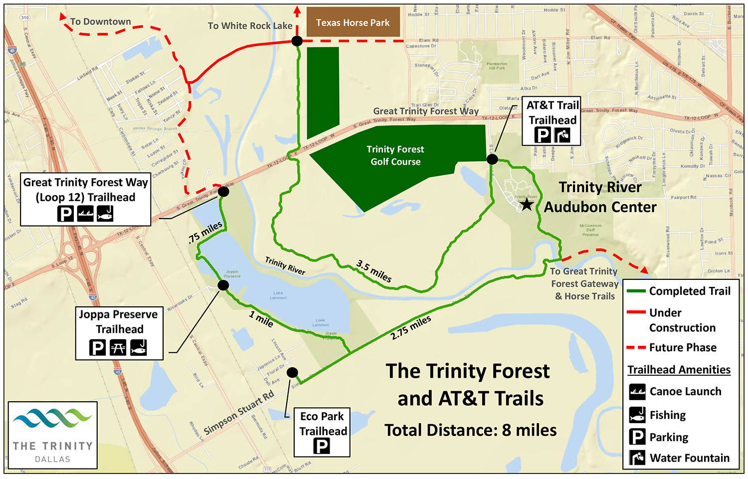 trinity forest golf course location pictures to pin on. Black Bedroom Furniture Sets. Home Design Ideas